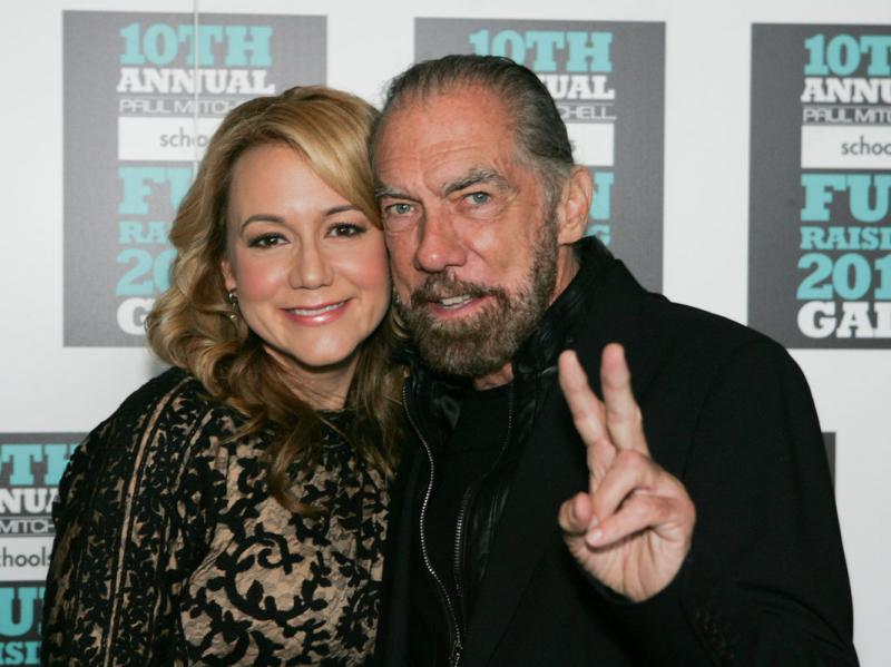 Megyn Price, John Paul DeJoria