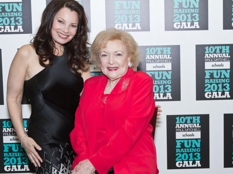 Fran Drescher, Betty White