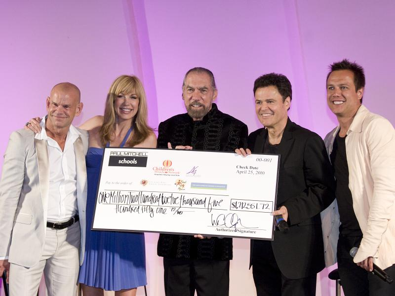 Winn Claybaugh, Leeza Gibbons, John Paul DeJoria, Donny Osmond, Angus Mitchell